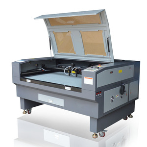 Laser Cutting And Engraving Machine In Germany For Paper And Conveyor Belt