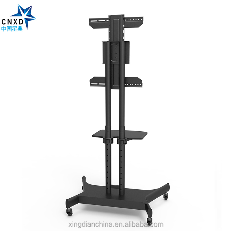 CCNXD D880 height adjustable 90 degree swivel portable tv stand mount