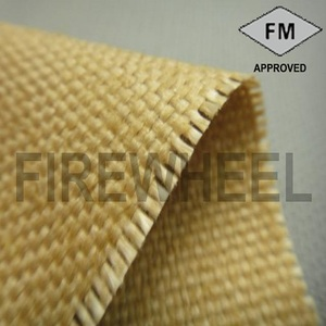 M30V Vermiculite coated fiberglass fabric/Cloth/Textile