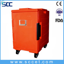 Hot fod transport mobile food non electric warmer cabinet for catering
