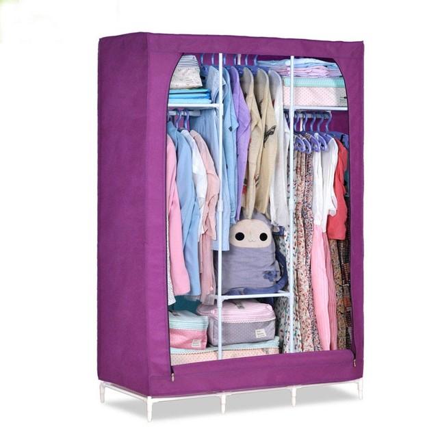 Non Woven Fabric Rolling Wardrobe Closet