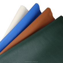 hot sale high quality synthetic leather pu litchi grain leather