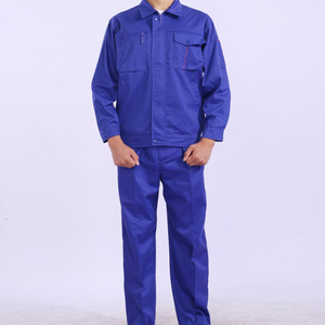 High Quality Blue Anti-winkle softly polyester,cotton Coverall Work wear Uniform