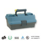 Wholesale large capacity 3 layer plastic fishing tackle box