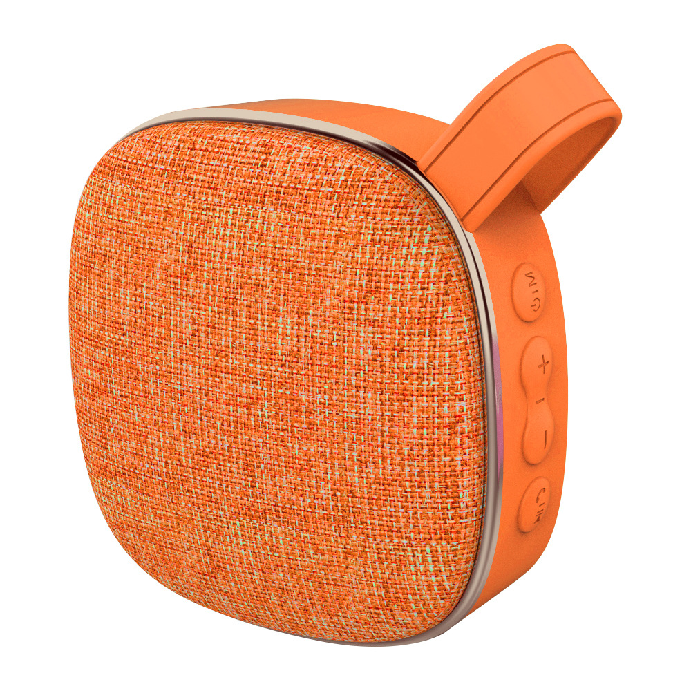 woven fabric speaker waterproof blue tooth speaker fabric cloth speaker