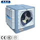 Water evaporation air cooler for factory air cooling system
