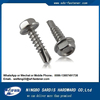 Alibaba Online Shopping hex washer stainless steel A2 / A4 Self Drilling Roofing Screw with EPDM Washer