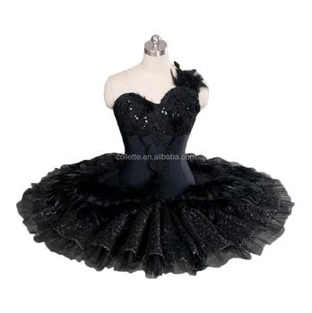 226c8cd91a7 Bly1167 !! Customized Black Swan Ballet Pancake Classical Skirt Tutu ...