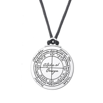 Supernatural amulet jewelry good luck talisman of solomon pentacle supernatural amulet jewelry good luck talisman of solomon pentacle seal pendant necklace aloadofball Gallery