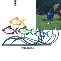 fish modelling led decorative landscape lamp for ocean park