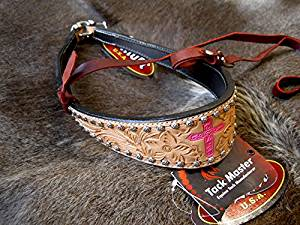 Horse Show Bridle Western Leather Barrel Racing Tack Rodeo Noseband 9920
