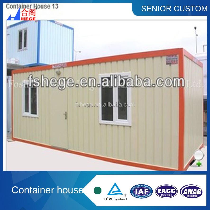 lage kosten 2 * 20ft container huis met slaapkamer/woonkamer, Badkamer