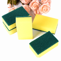 The whole shape scouring pad colorful scourer sponge