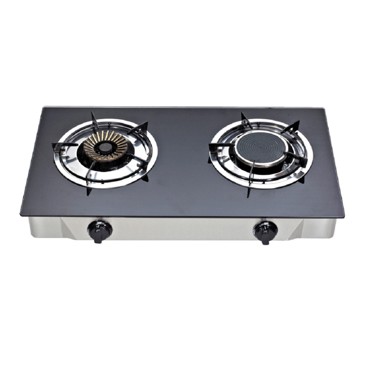 Top Selling kitchen high quality restaurant cooker gas 2 burners