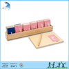 Hot sale early learning safety montessori solid wood alphabet letter