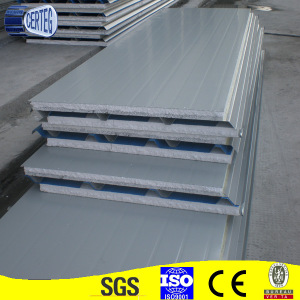 lightweight concrete outside nonmetal PU sandwich panel