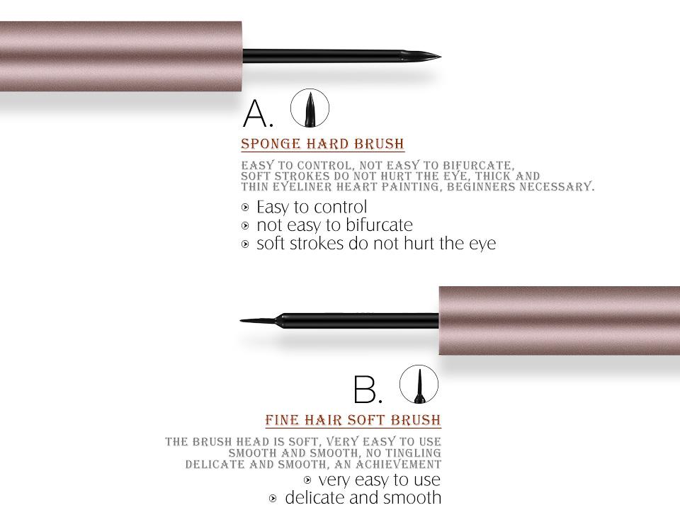 O. TWEE. O Hoge Kwaliteit Goedkope Prijs Vloeibare Eyeliner Lange Dragen Smudge-proof Waterproof Eyeliner Pen