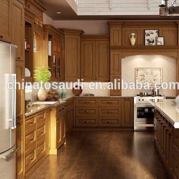 Cherry Wood Kitchen Cabinet Kitchen Furniture Set Kitchen Set