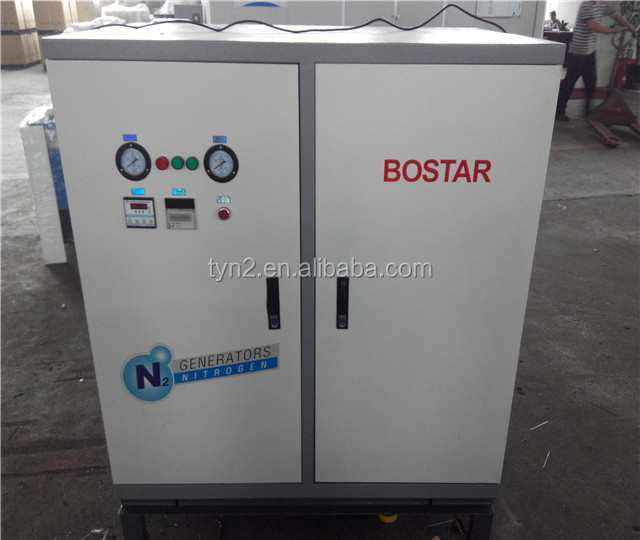 Nitrogen generation machine for packing medicines