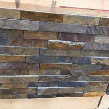 Natural Stack Slate Stone For Exterior Wall Cladding