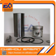 3t84 3t84t cylinder liner kit with 84mm piston fit for engine parts repairing