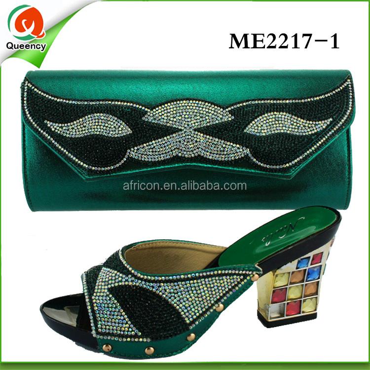 Hot shoes garment italian ladies matching women heel for bags medium shoes and q6xngAq4Y