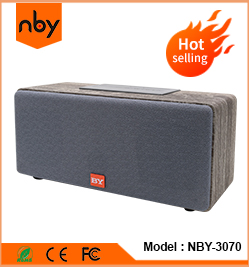 NBY-008 Portable  enceinte bocinas Parlants  bluetooth  speakers customized  bass powered stereo  Wireless Aux Outdoor  Speaker