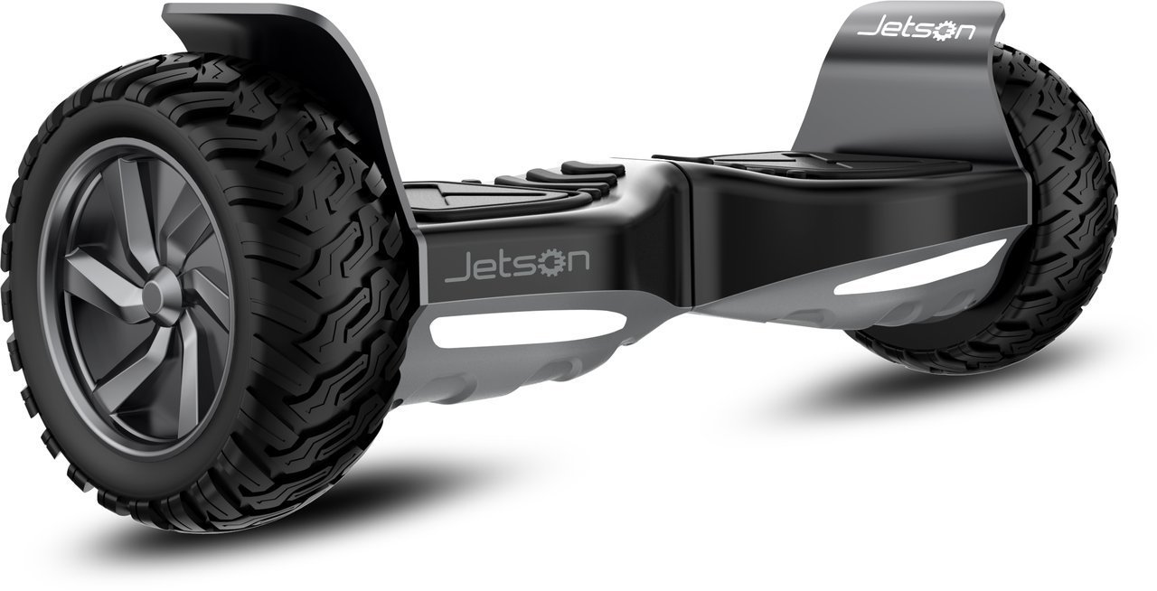 Jetson Rover V8 Self Balancing Scooter with All-Terrain Tires, Built-In Speakers and 3 Speed Modes