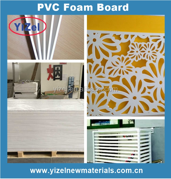 High quality machine grade Smooth solid surface PVC sheet/board