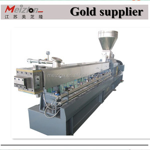 twin screw extruder/pelletizer/granulator /pelllete/granule making machine/plastics recycling