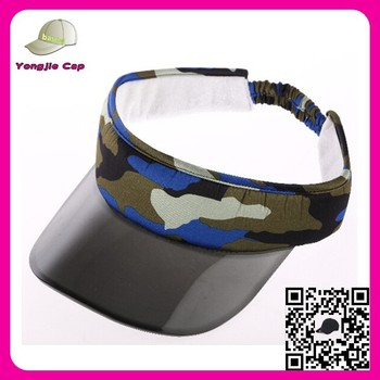 51f4bb7946712 Hotsale bulk sale transparent PVC bill Sunny cap transparent plastic sun visor  cap wholesale