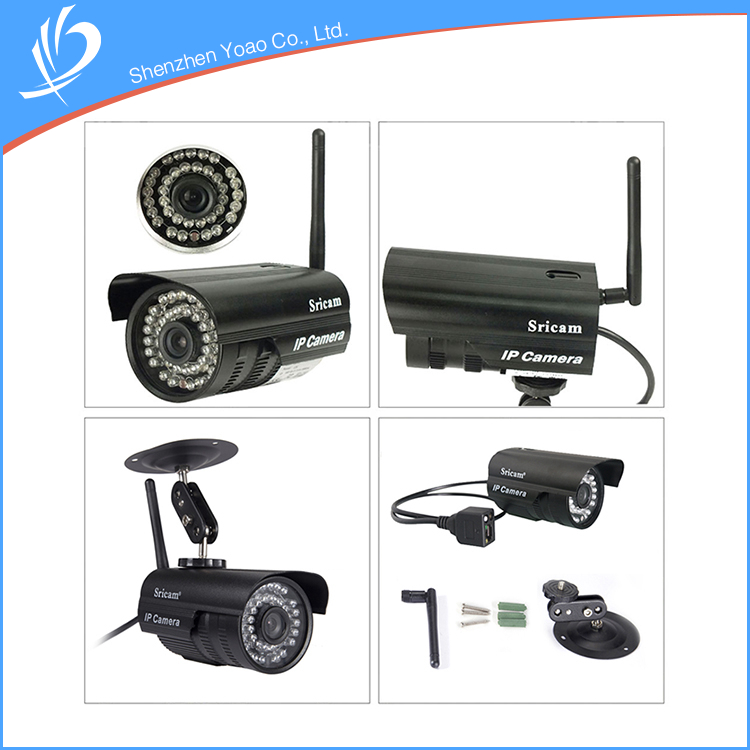 Preset Positions Function Wireless Security P2P Ip Camera