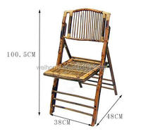 good quality outdoor bamboo folding chair