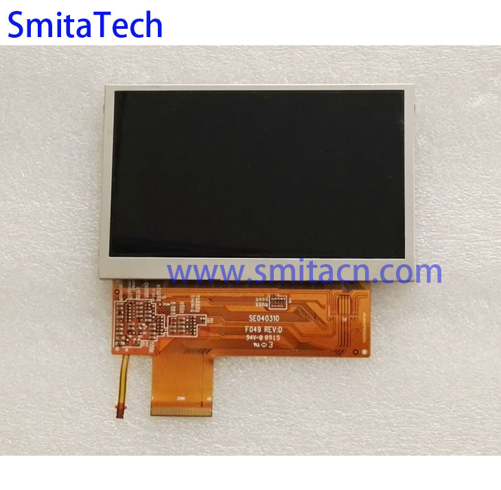"4.3"" universal tft lcd 40 pin SE040310 F049 REV:3 for Game machine car navigation digital photo frame Screen panel"