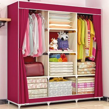 Charmant Modern Bedroom Ethiopian Furniture Cloth Rack Wardrobe Wire Shelving Closet  India Fancy Children Bedroom Wardrobe Design