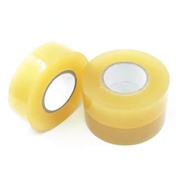 "hockey tape 50'x1"" clear packing tape 0.10 mm for banding machine"