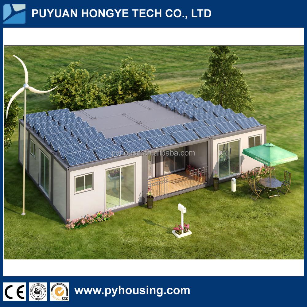 2016 china nieuwe prefab woningen modulaire villa prefab plat verpakt container huis prefab - Modulaire kamer ...
