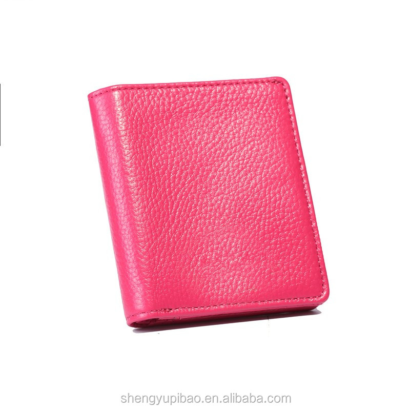 Trendy Products Advanced Genuine Leather Women's Colorful Wallet