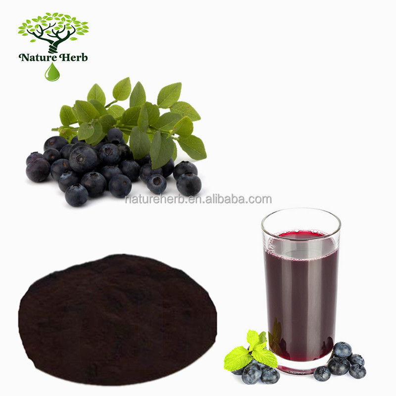 Watersoluble Bilberry Concentrate Juice Powder/Blueberry Juice Powder