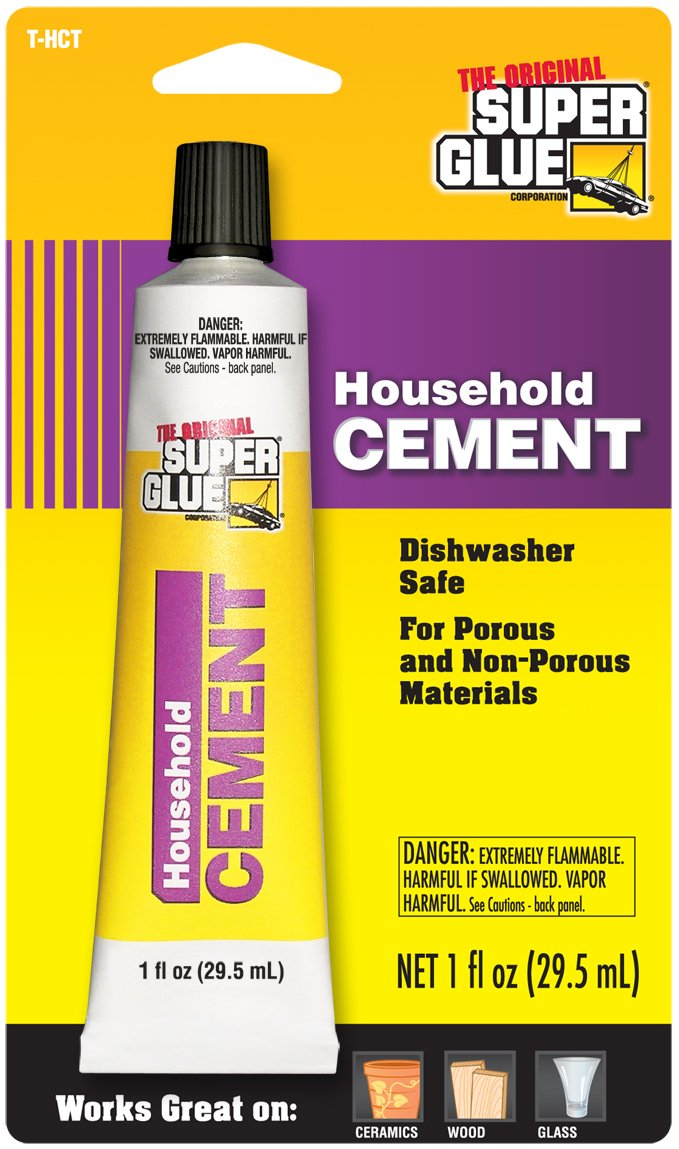 Super Glue Super Glue T-HCT12 Household Cement, 12-Pack(Pack of 12)