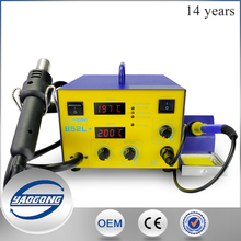 SMD soldering rework Station YG-702L YAOGONG motherboard repair tool with electronic hot air soldering gun
