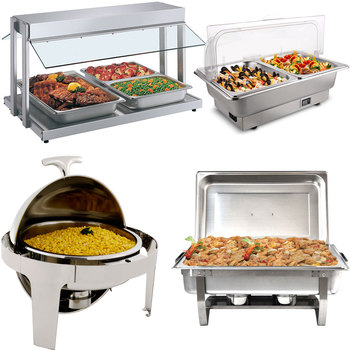 Food warmer & Service Trolley Cafeteria Equipment