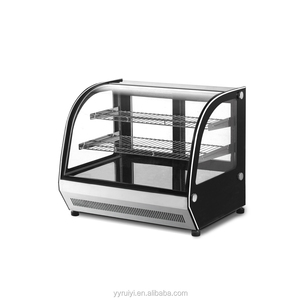 PEZO RY-660CT countertop 2 layer small cake display chiller
