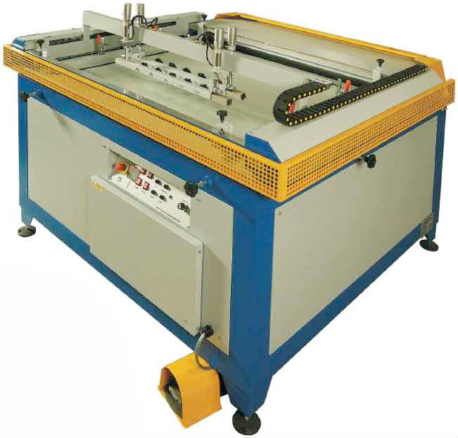 Semi Automatic print machines for transfers and graphics