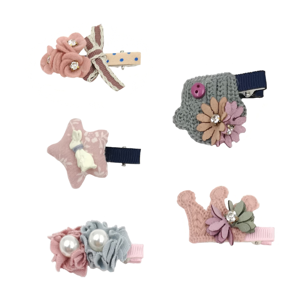 Orders Are Welcome. Hair Accessories Alert Baby Girls Handmade Small Snap Hair Clips.cute Pink Purple Baby Dolphin Girls' Accessories