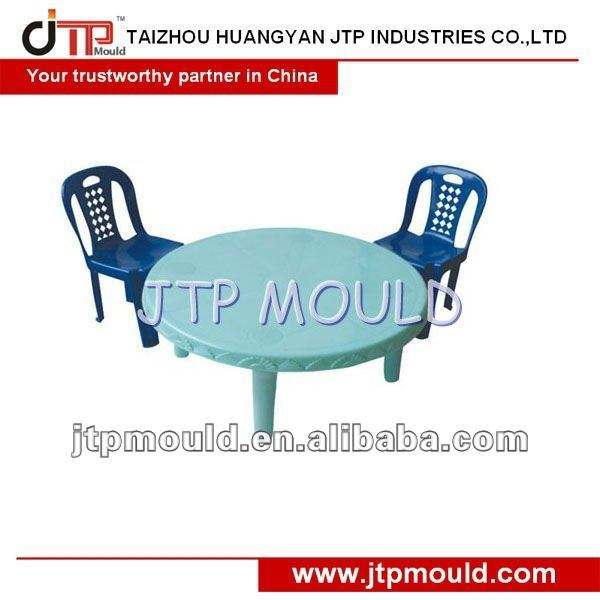 Table en plastique injection moule