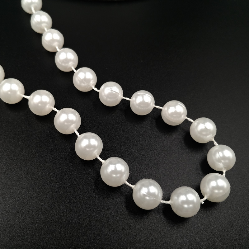 4mm 60 meters roll fishing string pearl beads garland for wedding party decoration