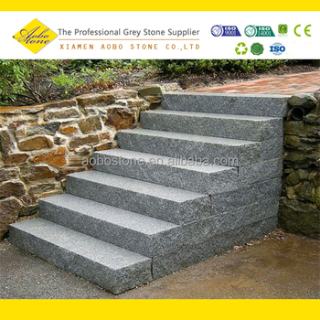 Superieur Hot Selling G603 Granite Outdoor Stone Steps
