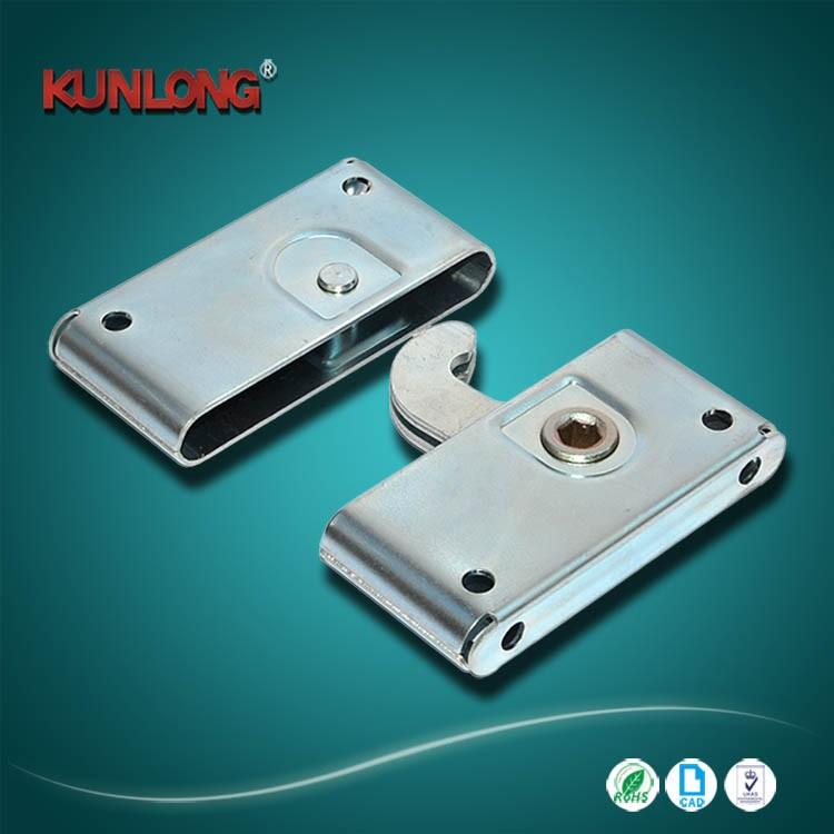 SK1-R5-007 Outdoor use security sliding panel door latch led screen hook lock