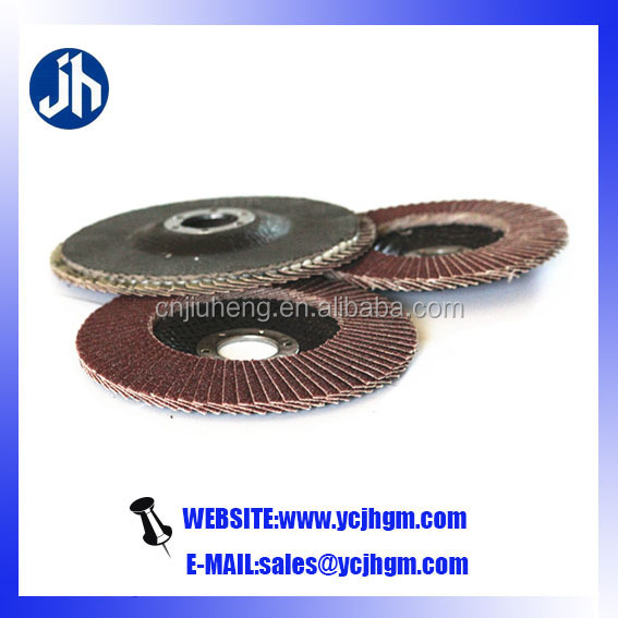 "FLAP DISCS 4-1/2"" x 7/8"" Zirconia 40 polishing disc metal disc for metal and wood"